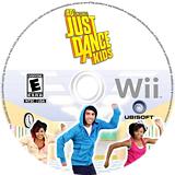 Just Dance Kids Wii disc (SDZE41)