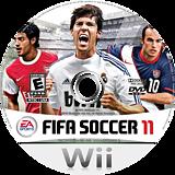 FIFA Soccer 11 Wii disc (SELE69)