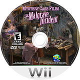 Mystery Case Files: The Malgrave Incident Wii disc (SFIE01)