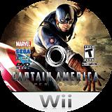 Captain America:Super Soldier Wii disc (SFQE8P)