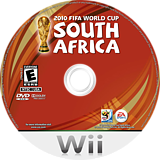 2010 FIFA World Cup South Africa Wii disc (SFWE69)