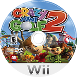 Crazy Mini Golf 2 Wii disc (SG2EFS)