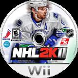NHL 2K11 Wii disc (SH3E54)