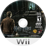 Harry Potter and the Deathly Hallows, Part 2 Wii disc (SH5E69)