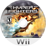Hyper Fighters Wii disc (SHSE20)