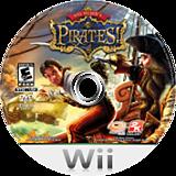 Sid Meier's Pirates! Wii disc (SIDE54)