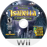 Princess Isabella: A Witch's Curse Wii disc (SISENR)