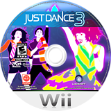 Just Dance 3 Wii disc (SJDE41)
