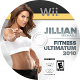Jillian Michaels Fitness Ultimatum 2010 Wii disc (SJME5G)