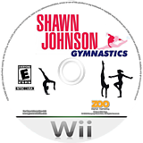 Shawn Johnson Gymnastics Wii disc (SJVE20)