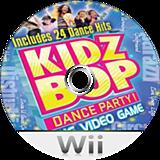 Kidz Bop Dance Party! Wii disc (SKBEG9)