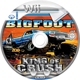 Bigfoot: King of Crush Wii disc (SKCE20)