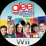 Karaoke Revolution Glee Volume 2 Wii disc (SKGEA4)