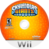 Skylanders: Giants Wii disc (SKYE52)