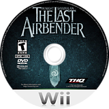 The Last Airbender: Toys R Us Special Edition Wii disc (SLAZ78)