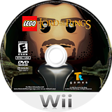 LEGO The Lord of the Rings Wii disc (SLREWR)