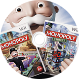 Monopoly Collection Wii disc (SMPE69)