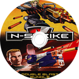 NERF N-Strike Double Blast Bundle Wii disc (SN2E69)