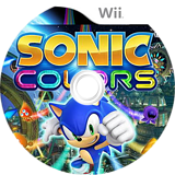 Sonic Colors Wii disc (SNCE8P)
