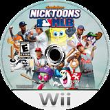 Nicktoons MLB Wii disc (SNIE54)