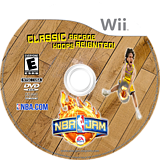 NBA Jam Wii disc (SNJE69)