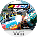 NASCAR Unleashed Wii disc (SNRE52)
