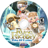 Rune Factory: Tides of Destiny Wii disc (SO3EE9)