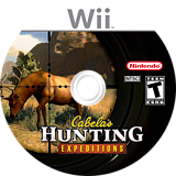 Cabela's Hunting Expeditions Wii disc (SOAE52)