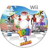 101-in-1 Sports Party Megamix Wii disc (SOIEEB)