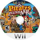 Pirates Plund-Arrr Wii disc (SPAE5G)