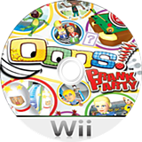 Oops! Prank Party Wii disc (SPIE18)