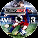 Pro Evolution Soccer 2011 Wii disc (SPVEA4)