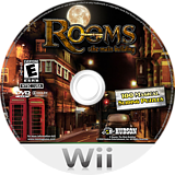 Rooms: The Main Building Wii disc (SRME18)