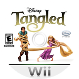 Disney Tangled Wii disc (SRPE4Q)