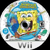 SpongeBob SquigglePants Wii disc (SS8E78)