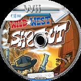 Wild West Shootout Wii disc (SSRE20)