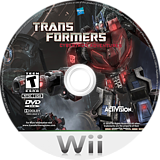 Transformers: Cybertron Adventures Wii disc (ST5E52)