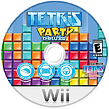 Tetris Party Deluxe Wii disc (STEETR)