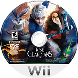 Rise of the Guardians Wii disc (SU7EG9)