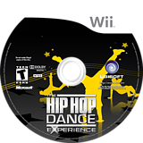 The Hip Hop Dance Experience Wii disc (SUOE41)