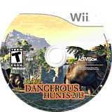 Cabela's Dangerous Hunts 2013 Wii disc (SUVE52)