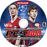 Pro Evolution Soccer 2010 Wii disc (SUXEA4)