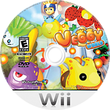 Veggy World Wii disc (SVWEQH)