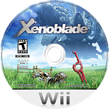Xenoblade Chronicles Wii disc (SX4E01)