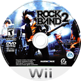 Rock Band 2 Wii disc (SZAE69)