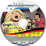 SingItStar Deutsch Rock-Pop Vol. 2 CUSTOM disc (DRP22Q)