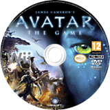 James Cameron's Avatar: The Game Wii disc (R5VP41)