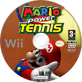 Mario Power Tennis Wii disc (RMAP01)