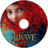 Brave: The Video Game Wii disc (S6BP4Q)