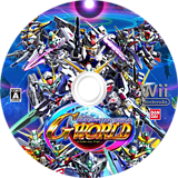 SDガンダム Gジェネレーション ワールド Wii disc (SDJJAF)